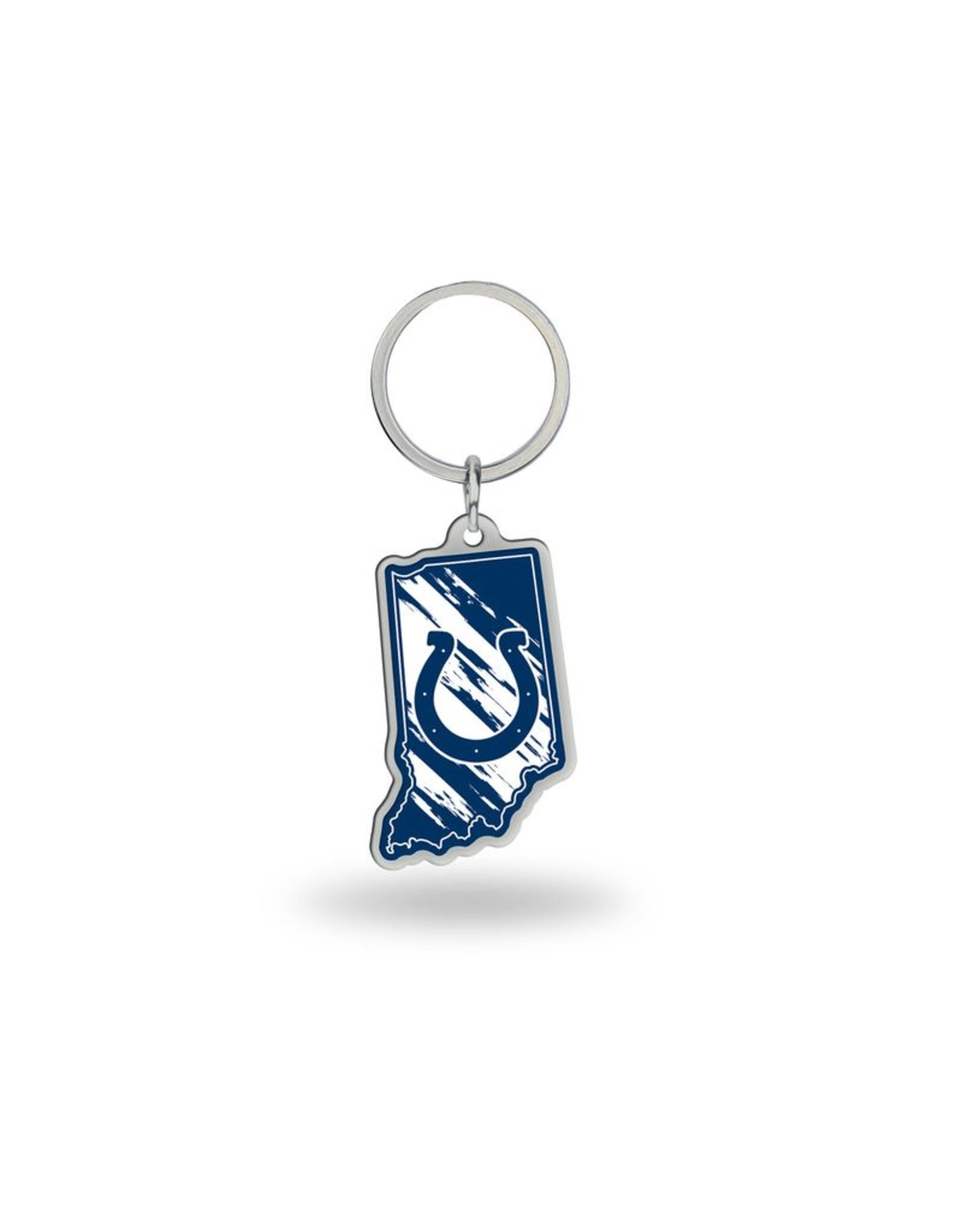 Indianapolis Colts State Shaped Key Ring