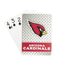 PRO SPECIALTIES GROUP Arizona Cardinals Steel Grid Playing Cards