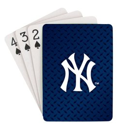 PRO SPECIALTIES GROUP New York Yankees Steel Grid Playing Cards