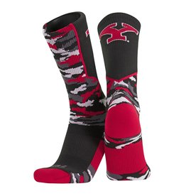 TWIN CITY KNITTING CO Youngstown State Penguins Camo Socks