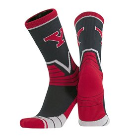TWIN CITY KNITTING CO Youngstown State Penguins Victory Socks