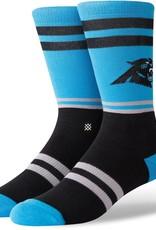 STANCE Carolina Panthers  Logo Crew Socks