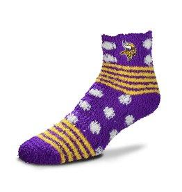 FOR BARE FEET Minnesota Vikings SleepSoft Socks