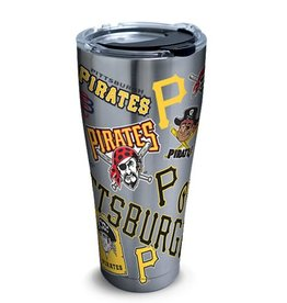 Pittsburgh Pirates TERVIS 30oz Stainless Steel All Over Tumbler