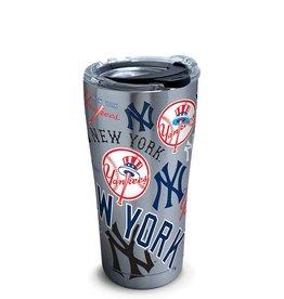 New York Yankees 20oz Stainless Edge Tumbler