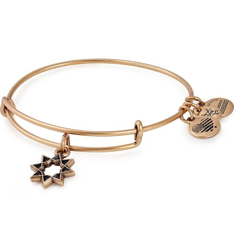 Alex and Ani Eight Pointed Star EWB -Gold