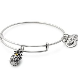 Alex and Ani Pineapple III EWB -Silver