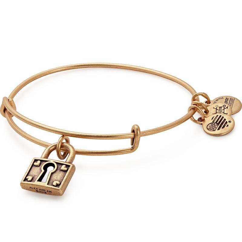 Alex and Ani Unbreakable Love EWB -Gold