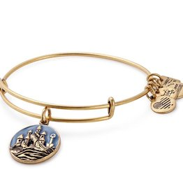 Alex and Ani Charity By Design -Sand Castle EWB -Gold