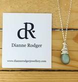 "Dianne Rodger Small Petal Necklace- Labradorite 18"""