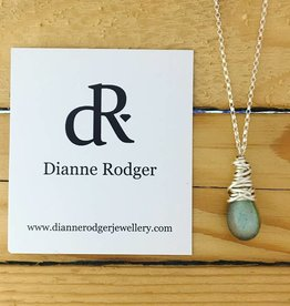 Dianne Rodger Small Petal Necklace- Labradorite 18""