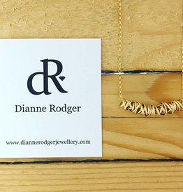 Dianne Rodger Small 14 Kt Gold Fill Twist Necklace 16""