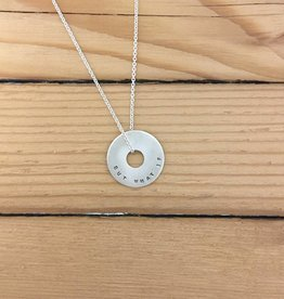 Andrea Waines Sm Halo Necklace: But What if You Fly