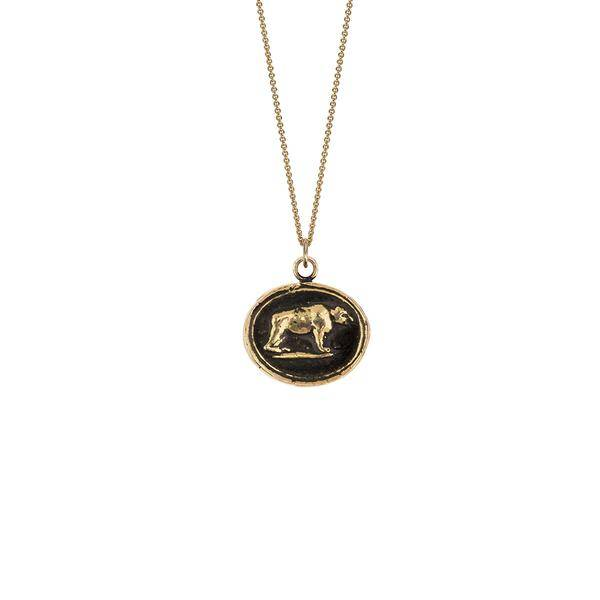 Pyrrha Pyrrha 14 KT Gold Mother Bear 18""