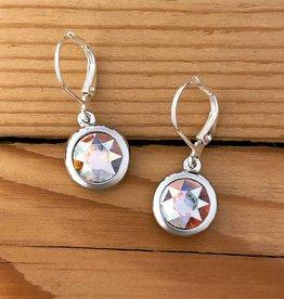 Merx Merx Crystal Drop Earring- Aurora Boreales