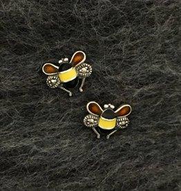 Larus Marcasite Bee Earrings