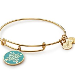 Alex and Ani Charity by Design- Arrows of Friendship EWB -Gold
