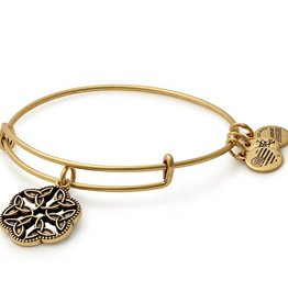 Alex and Ani Endless Knot III EWB -Gold