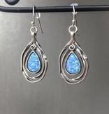 Shablool Opal Teardrop Earrings
