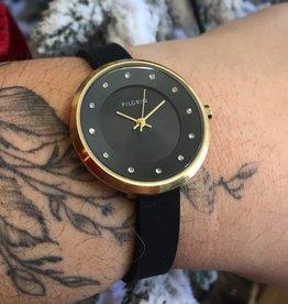 Pilgrim Amy Watch-Gold/Black