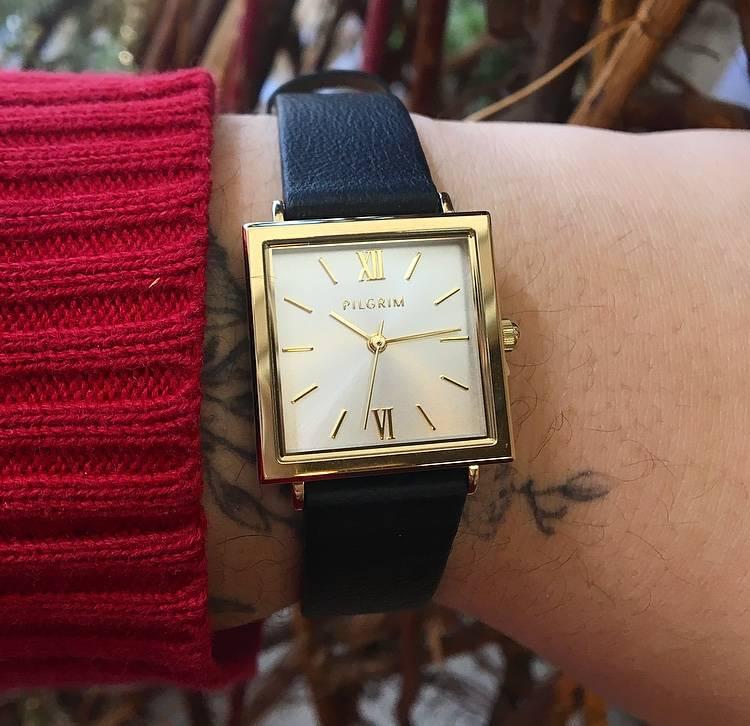 Pilgrim Bell Watch - Gold/Black