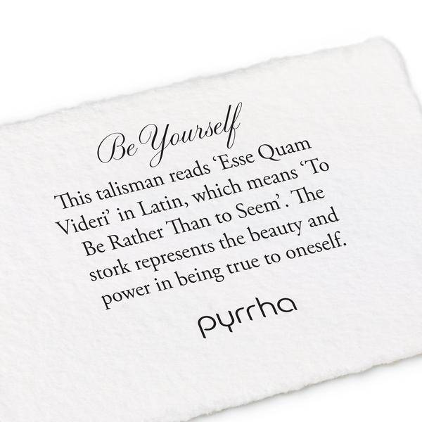 Pyrrha Pyrrha- Be Yourself 18""