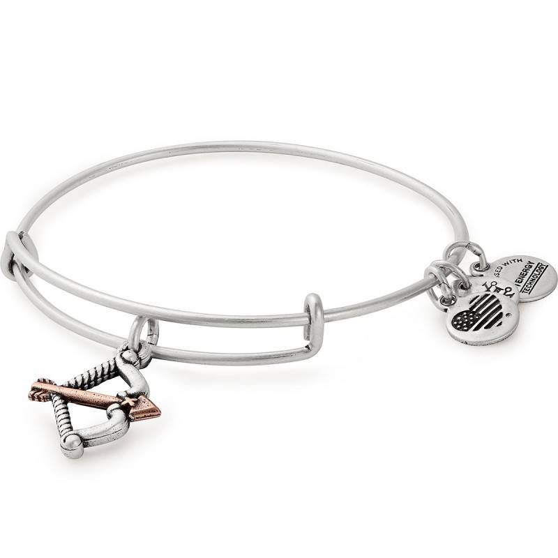 Alex and Ani Cupid's Arrow EWB, Two Tone, RAR