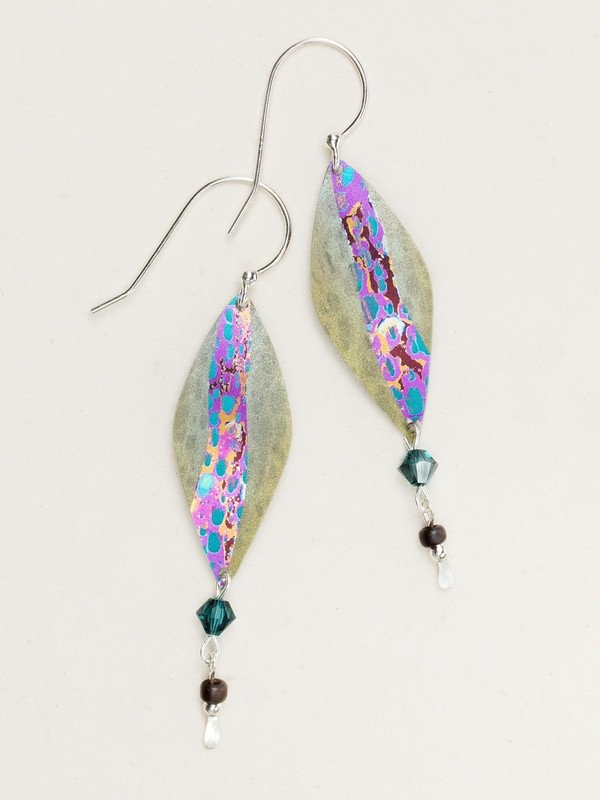Holly Yashi Sage Sea Side Earrings