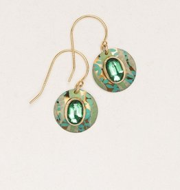 Holly Yashi Verdant Green Mistral Earrings