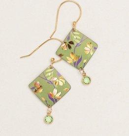 Holly Yashi Green Garden Sonnet Earrings