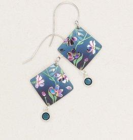Holly Yashi Blue Garden Sonnet Earrings