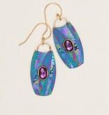 Holly Yashi Turquoise/Purple Wanderlust Earrings