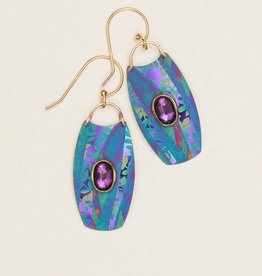 Holly Yashi Turquoise/Purple Wanderlust Earrings