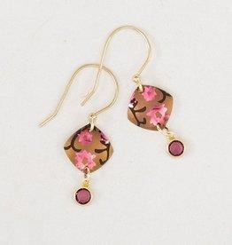 Holly Yashi Peachy Aurora Earrings