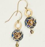 Holly Yashi Denim Encircled Abela Earrings