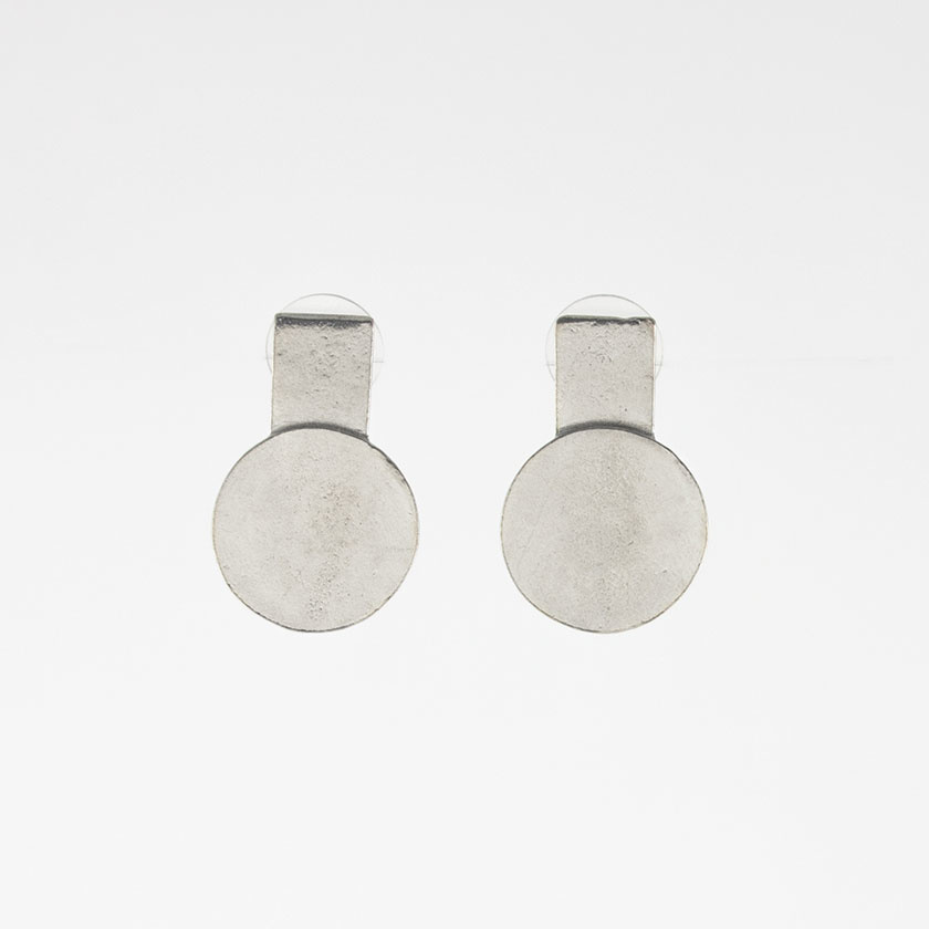Anne Marie Chagnon Marty Earring- Pewter
