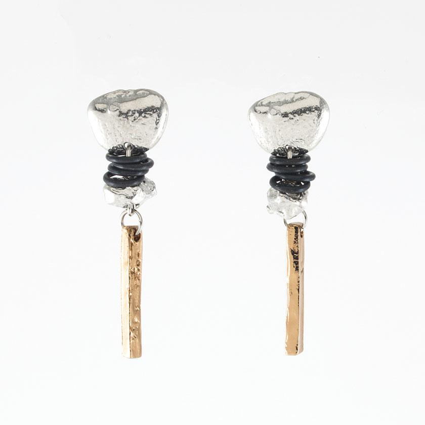 Anne Marie Chagnon Suzie Earring - Bronze