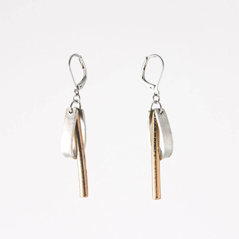 Anne Marie Chagnon Lewis Earring- Bronze
