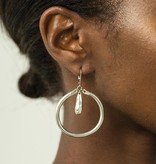 Anne Marie Chagnon Nelly Earring - Pewter