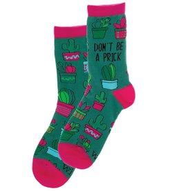 WIT Wit! Socks- Don't Be A Prick