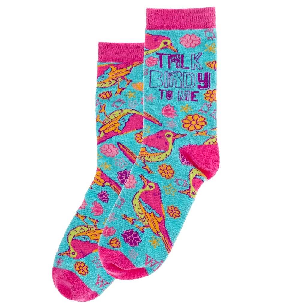 WIT Wit! Socks- Talk Birdy To Me