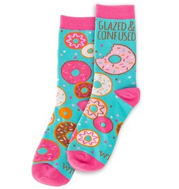 WIT Wit! Glazed and Confused Socks