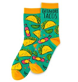 WIT Wit! Tacos Socks