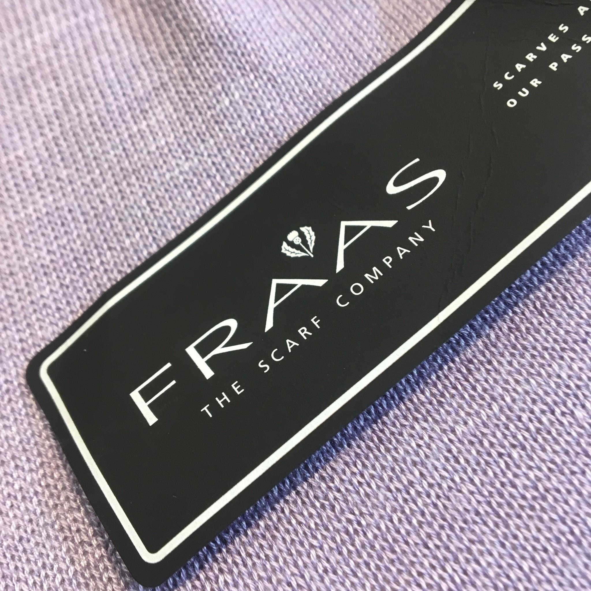 Fraas Fraas Soft Knit Poncho- Lavender