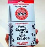 Tate Group Typewriter Fridge Magnets