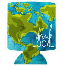 WIT Drink Local Koozie