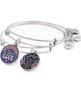 Alex and Ani All You Need Is Love Set of 2, RS