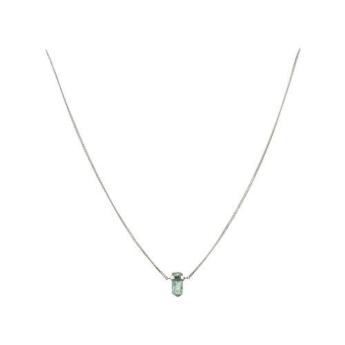 mimi + marge Emerald Wrap Necklace