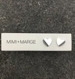 mimi + marge mimi + marge- Madu Heart Stud