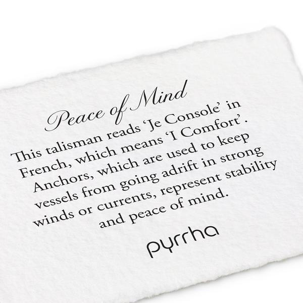 "Pyrrha Pyrrha- 14K Peace of Mind 18"""